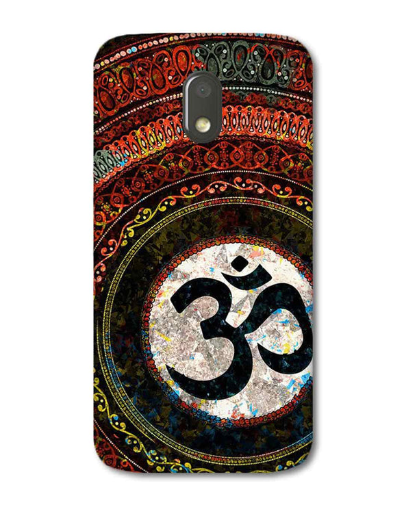 Om Mandala | Moto E3 Power  Phone Case