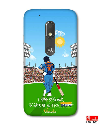 Tribute to Sachin | Motorola G4 Play Phone Case