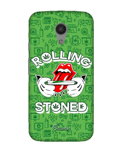 Rolling Stoned | Moto G2 Power Phone Case