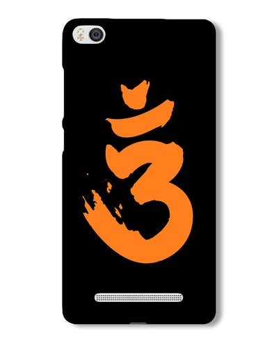 Saffron AUM the un-struck sound | Mi4i  Phone Case