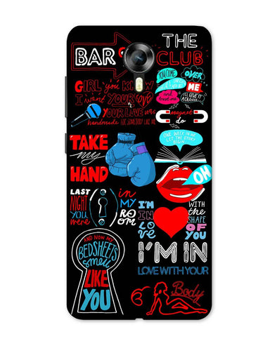 Shape of You | Micromax Canvas Xpress 2 Phone Case