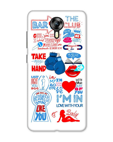 Shape of you - White | Micromax Canvas Xpress 2 Phone Case