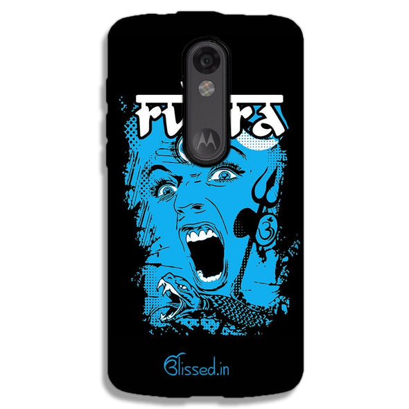 Mighty Rudra - The Fierce One | MOTO X FORCE Phone Case