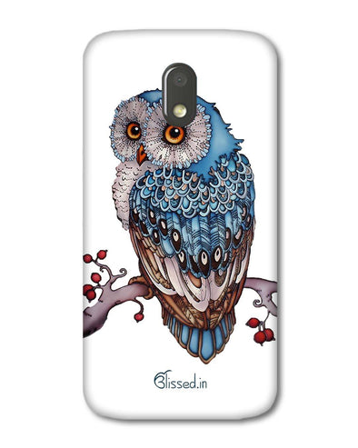 Blue Owl | Motorola E3 Power Phone Case