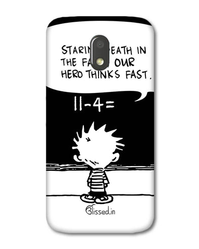 Hero Hobbes | Motorola E3 Power Phone Case