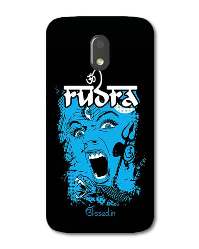 Mighty Rudra - The Fierce One | Motorola E3 Power  Phone Case