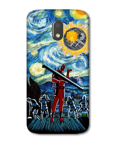 Dead star | Motorola E3 Power Phone Case