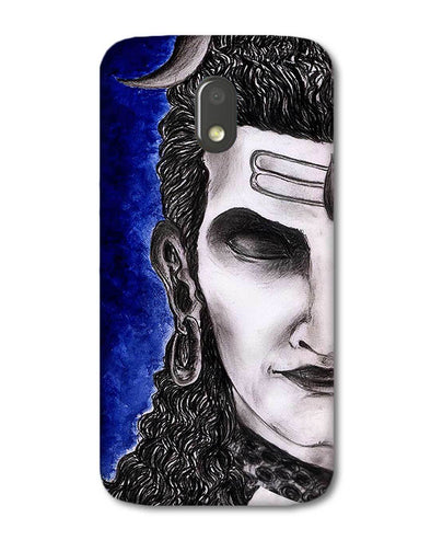Meditating Shiva | Motorola E3 Power Phone case