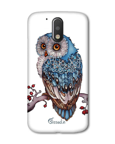 Blue Owl | Motorola G Plus Phone Case