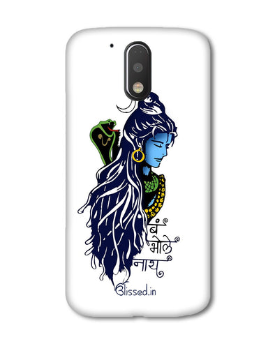 BUM BHOLE NATH | Motorola G Plus Phone Case