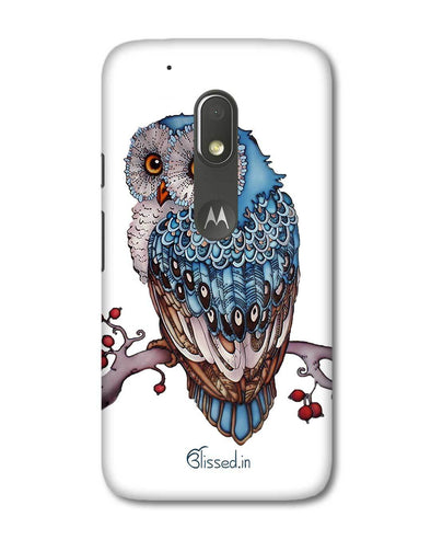 Blue Owl | Motorola G4 Play Phone Case