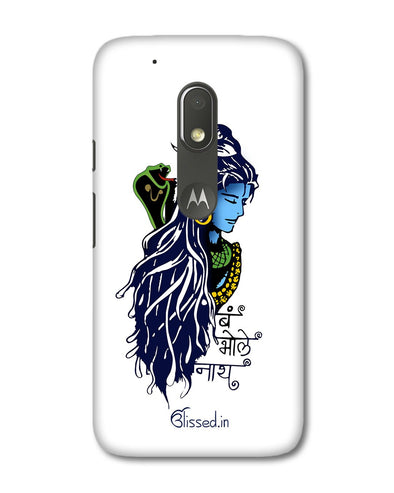 BUM BHOLE NATH | Motorola G4 Play Phone Case