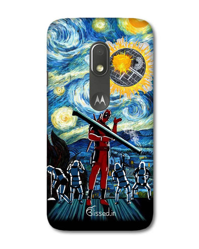 Dead star | Motorola G4 Play Phone Case