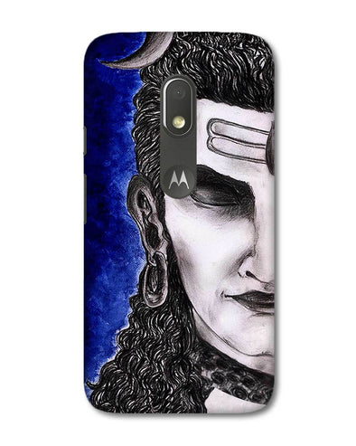 Meditating Shiva | Motorola G4 Play Phone case