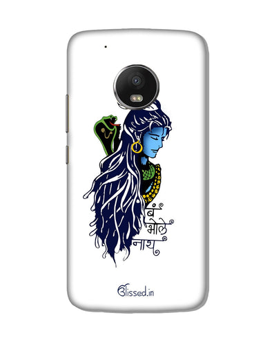 BUM BHOLE NATH | Motorola G5 Plus Phone Case