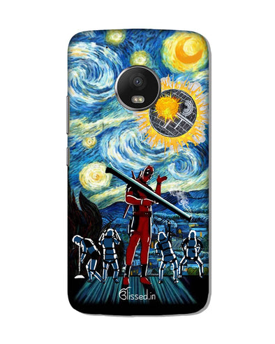 Dead star | Motorola G5 Plus Phone Case