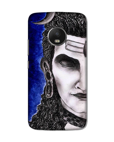 Meditating Shiva | Motorola G5 Plus Phone case