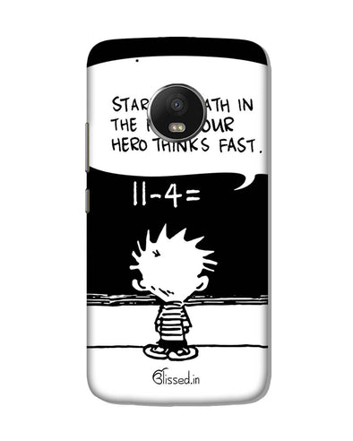 Hero Hobbes | Motorola G5 Plus Phone Case