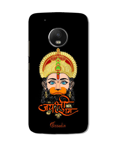 Jai Sri Ram -  Hanuman | Motorola G5 Plus Phone Case