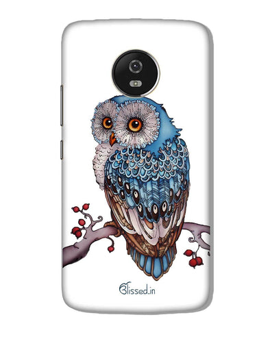 Blue Owl | Motorola G5 Plus Phone Case
