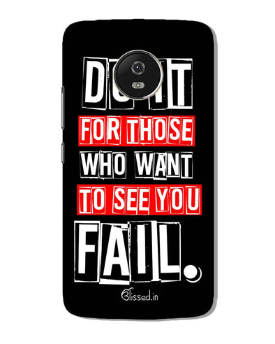 Do It For Those | Motorola G5 Phone Case
