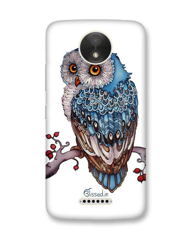 Blue Owl | Motorola Moto C Plus Phone Case