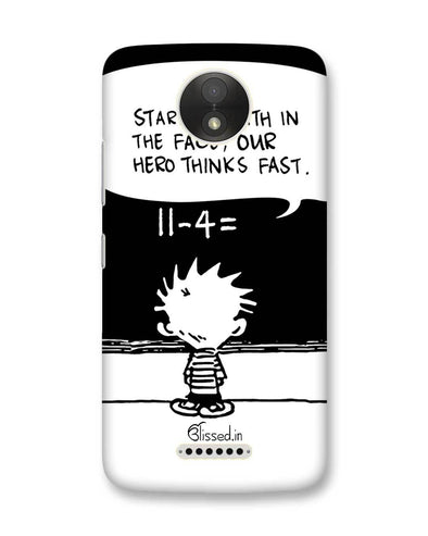 Hero Hobbes | Motorola Moto C Plus Phone Case