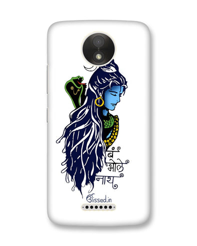 BUM BHOLE NATH | Motorola Moto C Plus Phone Case