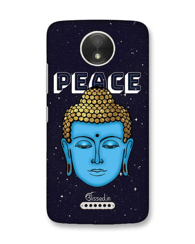 Peace of buddha | Motorola Moto C Plus Phone Case