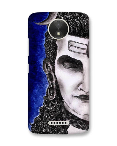 Meditating Shiva | Motorola Moto C Plus Phone case