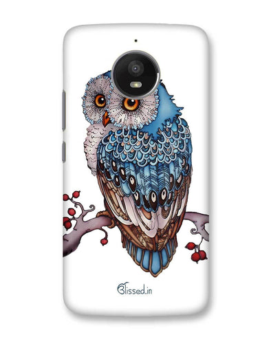 Blue Owl | Motorola Moto E4 Plus Phone Case