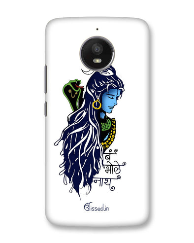 BUM BHOLE NATH | Motorola Moto E4 Plus Phone Case