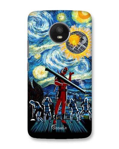 Dead star | Motorola Moto E4 Plus Phone Case