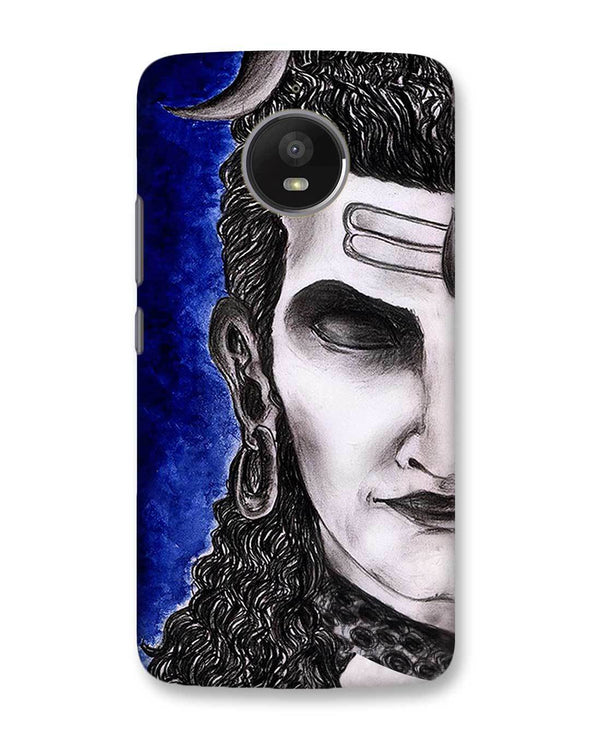 Meditating Shiva | Motorola Moto E4 Plus Phone case