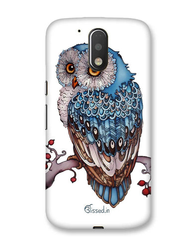 Blue Owl | Motorola Moto G (4 plus) Phone Case