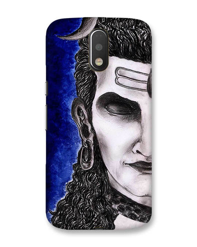 Meditating Shiva | MOTO G4 Phone case