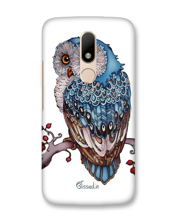 Blue Owl | Motorola Moto M Phone Case