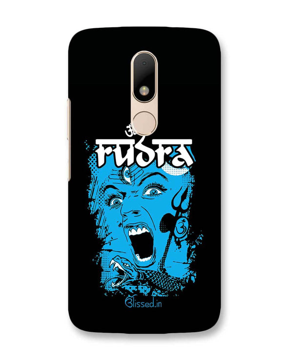 Mighty Rudra - The Fierce One | Motorola Moto M Phone Case