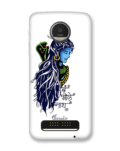 BUM BHOLE NATH | Motorola Moto Z Play Phone Case