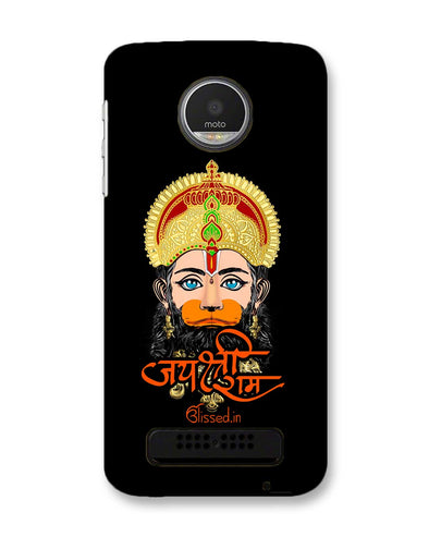 JAI SRI RAM - HANUMAN | MOTO Z2 PLAY PHONE CASE BLAK
