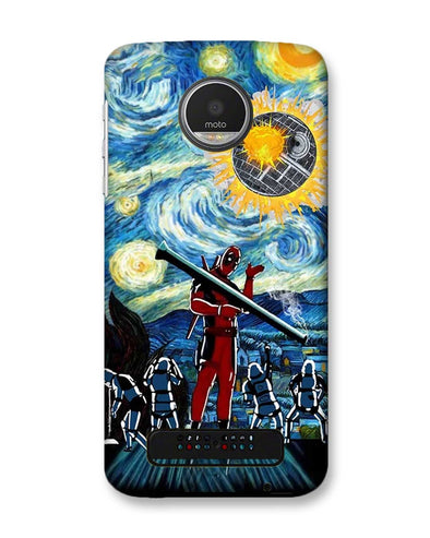 Dead star | MOTO Z2 PLAY Phone Case
