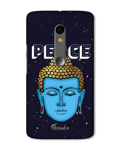 Peace of buddha | Motorola X Play Phone Case