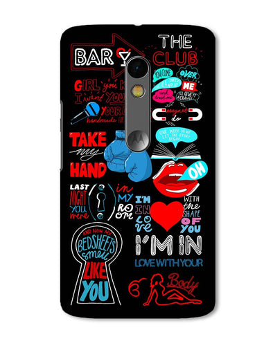 Shape of You | Motorola X Play Phone Case