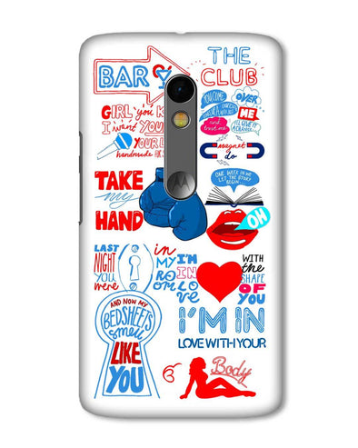 Shape of you - White | Motorola X Play Phone Case