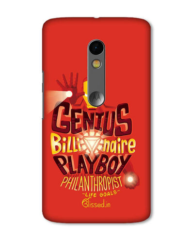 Life Goals | Motorola X Play Phone Case