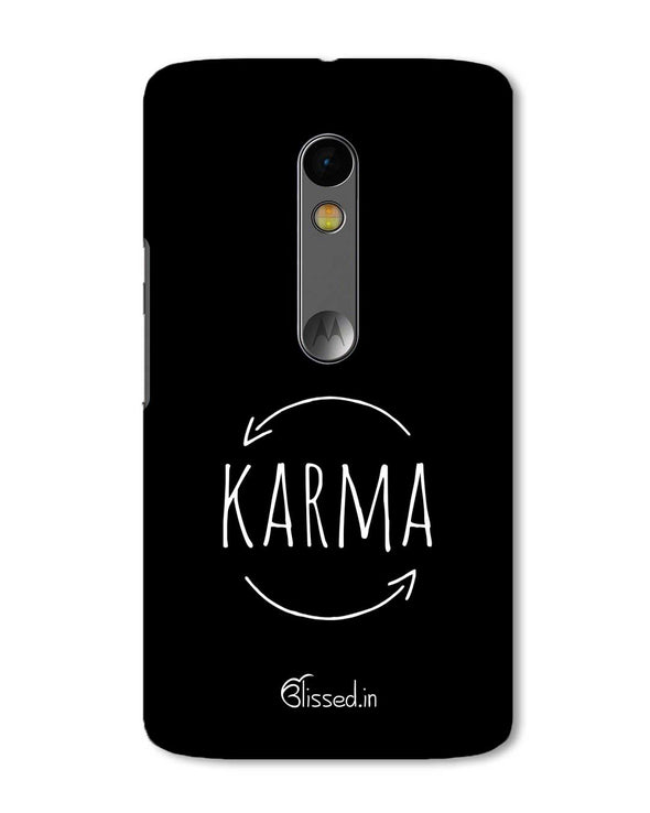 karma | Motorola X Play Phone Case
