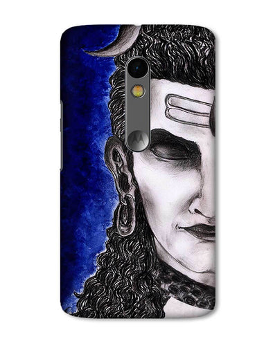 Meditating Shiva | Motorola X Play Phone case
