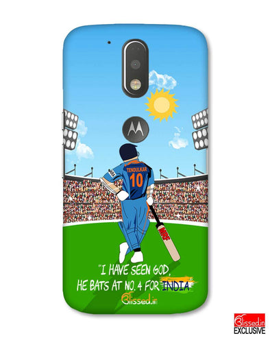 Tribute to Sachin | Motorola Moto G (4 plus) Phone Case