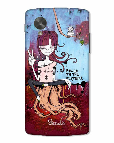 Power to the peaceful | Nexus 5 Phone Case