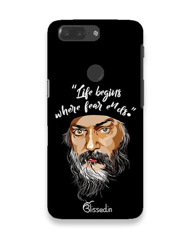 Osho: life and fear |  OnePlus 5t Phone Case